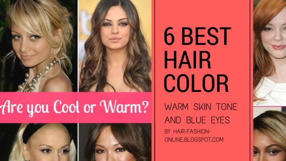 Best Hair Colors For Warm Skin Tone And Blue Eyes