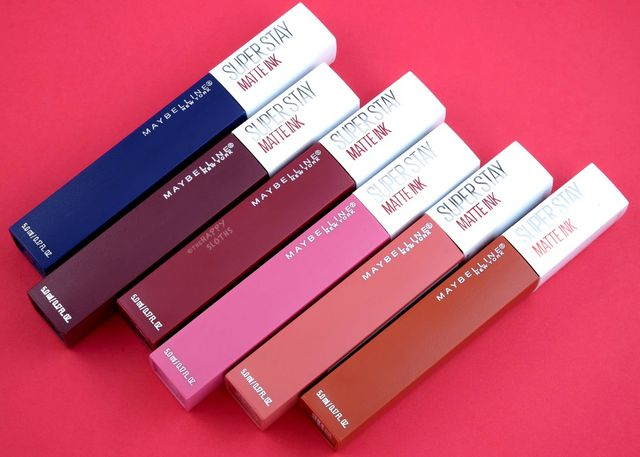 Maybelline Superstay Matte Ink City Edition Collection
