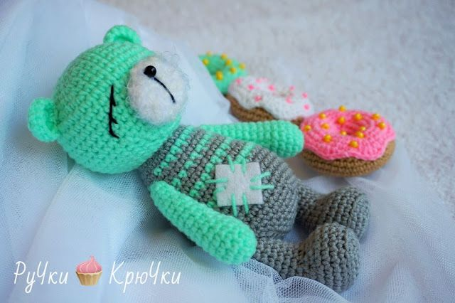 Amigurumi Free Patterns Blog : Amigurumi Sleeping Bear-Free Pattern Amigurumi Free ...