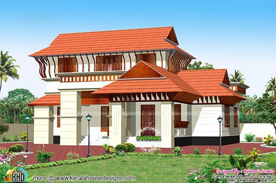 Sq Ft Kerala Model House Architecture Kerala Home Design