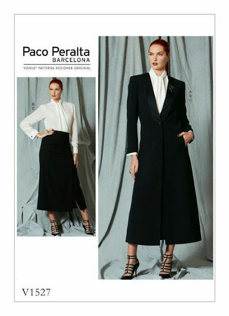 e1dc39fe1c92 Can I get a round of applause for Paco s contributions to Vogue Patterns!  I ve been following Paco for years and this is most deserving.