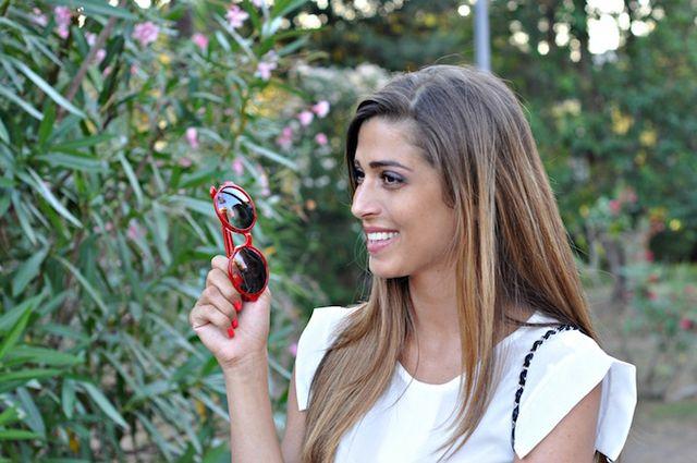 I was wearing  Banggood blouse Via delle Perle pants Les Tropeziennes  sandals from Sarenza.com Chanel bag Ete Lunettes sunglasses f6a94a0176e8