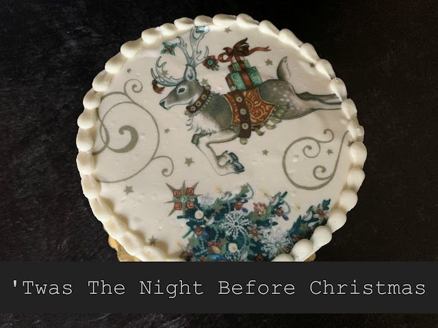 Twas The Night Before Christmas Cake