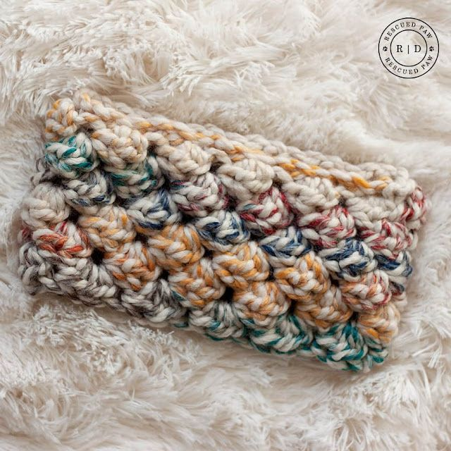 Bubble Headband Crochetpattern Stoere Oorwarmerhoofdband Bees