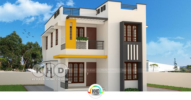1600 sq ft house in meters. Total area of this Contemporary style cute house is 1600 Square Feet  149 Meter 178 yards with 4 bedrooms Design provided by Vishnu Cute and stylish contemporary home sq ft Kerala design