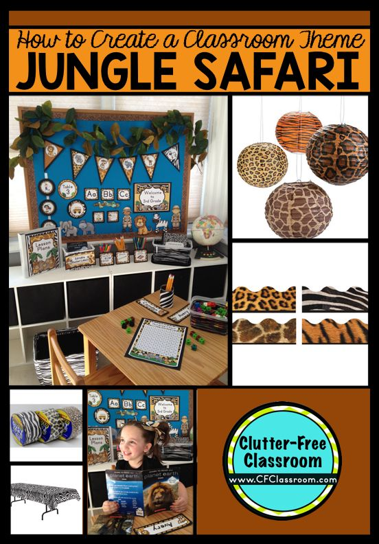 1bae2bd3a84 A Jungle Theme Classroom is a popular choice for educators looking to  create a cohesive and creative learning environment. It appeals to both  elementary and ...