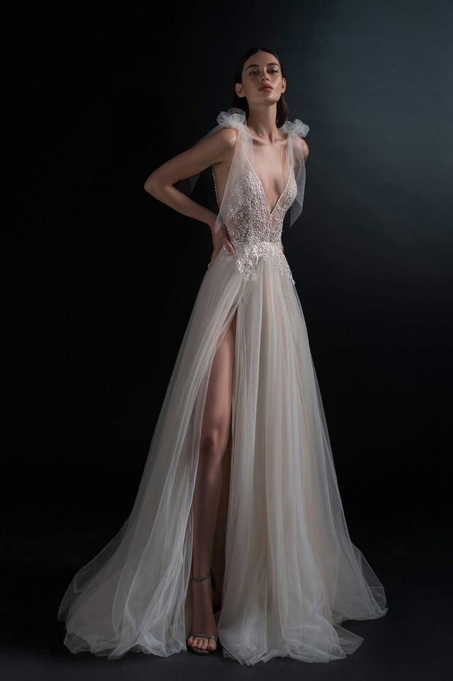 21c54aaa99bf8 Simply BEAUTIFUL Bridal Gowns! INBAL DROR. INBAL DROR SPRING 2019 BRIDAL  COLLECTION