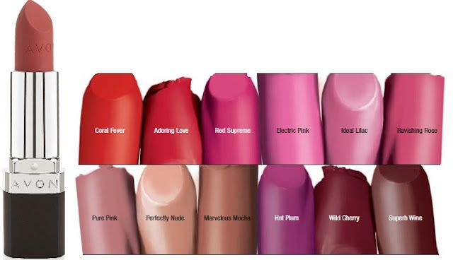 Avon True Color Perfectly Matte Lipstick With Swatches Beauty