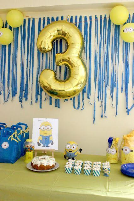 1f2ff8b37 Our Minion Birthday Party!!!!   Ευ Ζήν Creations   Bloglovin'
