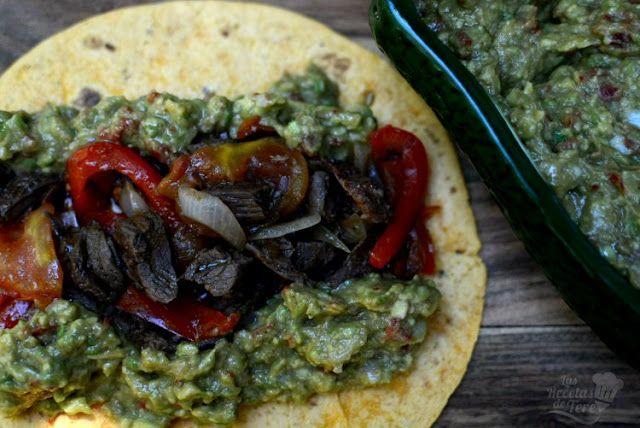 Tortillas al estilo mexicano con entraña de ternera  fef2dbbc64a