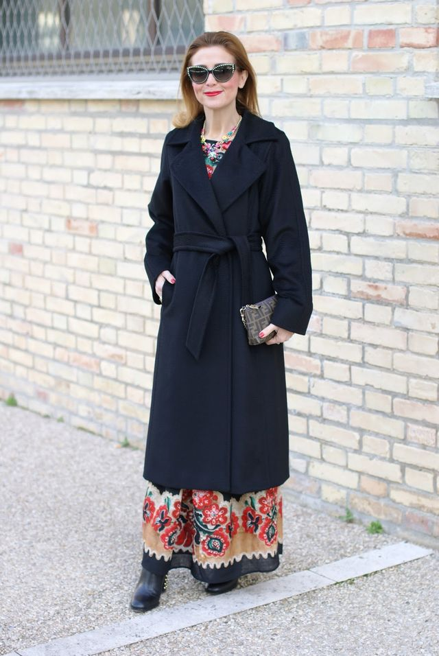 814e60fda0c8 The perfect black coat  Max Mara Manuela coat