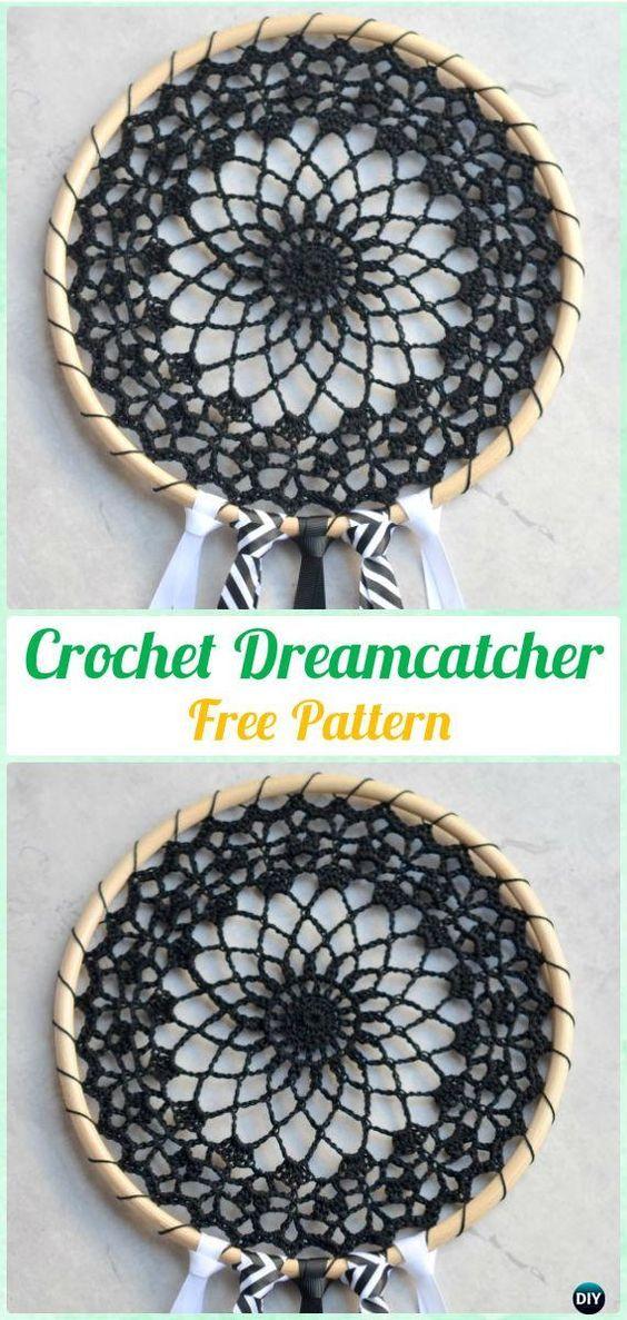 Cool Crochet Dreamcatcher Pattern Coole Dromenvanger Haakpatroon