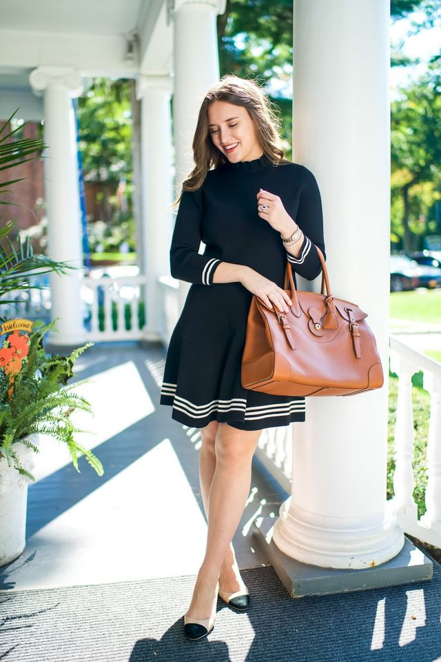 f260696bdc84 A Fall Wear-to-Work Dress | Covering the Bases | Bloglovin'