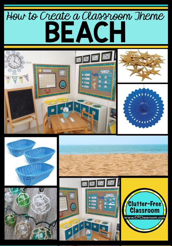 Free Classroom Decoration Resources : Beach themed classroom ideas printable