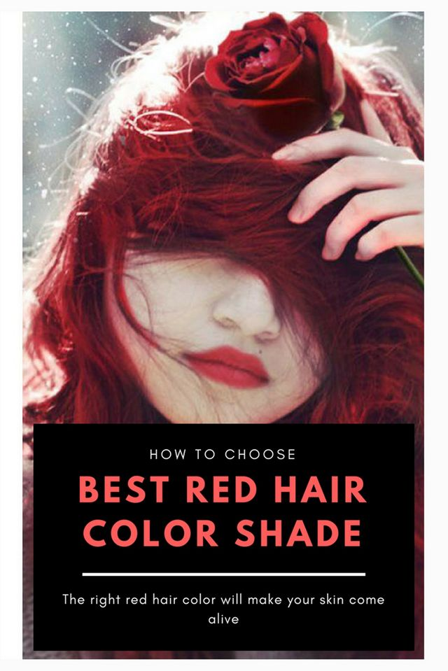 How To Choose The Best Red Hair Color Shade Hairstyles Hair
