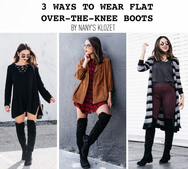 aa67c502672 3 WAYS TO WEAR OVER-THE-KNEE BOOTS...under $100   Nany's Klozet ...