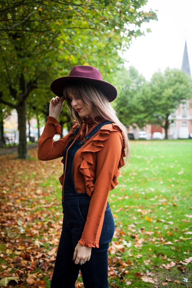 4a9dee8b859 Outfit  autumnal in ruffles