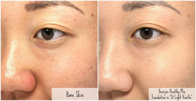 Bourjois Healthy Mix Anti Fatigue Foundation Concealer Review And