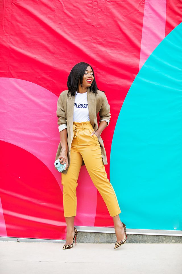 7c3a3c864862 How To Wear Graphic Tee With Bold Color Like A Boss | J'ADORE ...