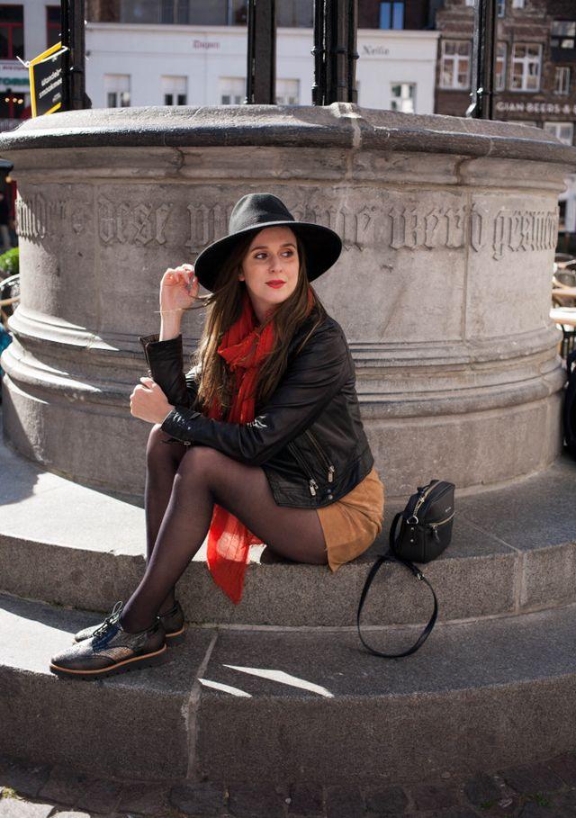7a27a4d95ab Outfit  wide brim hat