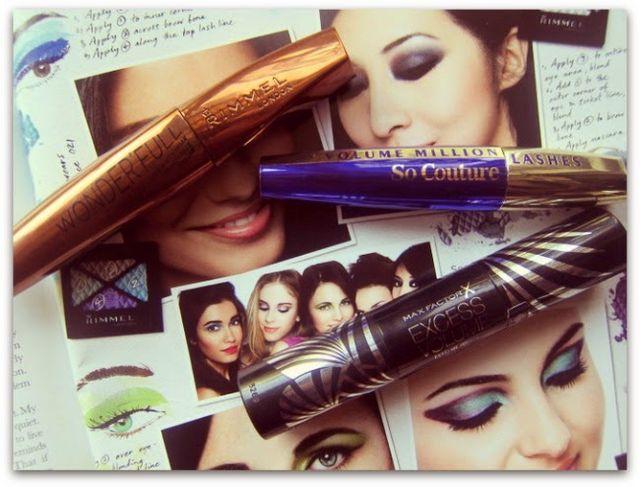 0ebcbc29858 Mascara Trials: Rimmel Wonder'full, Max Factor Excess Volume, L'Oreal So  Couture