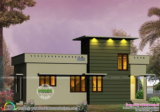 600 Sq Ft Small Contemporary House