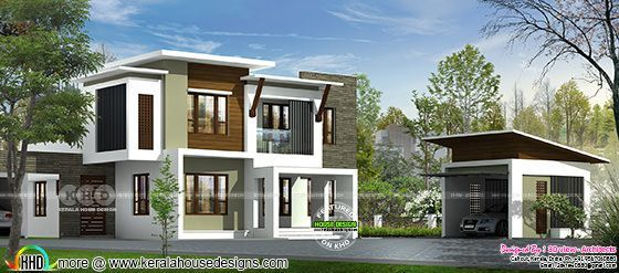 Contemporary House Design By 3D View Architects