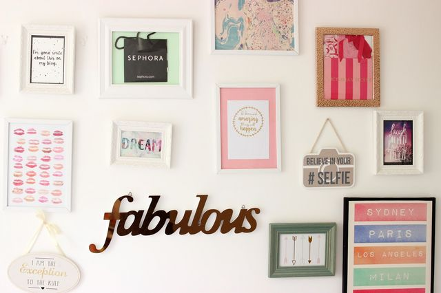 How To Make A Beautiful Gallery Wall On A Budget   Through The ...