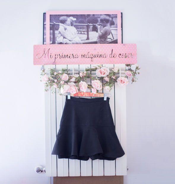 bae319b78 Patrón: Falda-pantalón | Mi primera máquina de coser | Bloglovin'