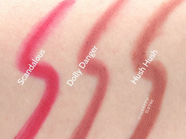 Buxom Plumpline Lip Liner: Review and Swatches | The Happy Sloths ...