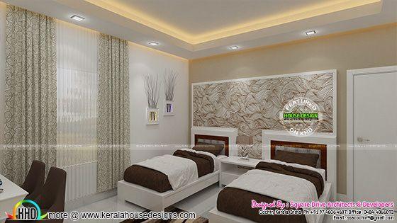 Parents And Kids Bedroom Interior Kerala Home Design Bloglovin