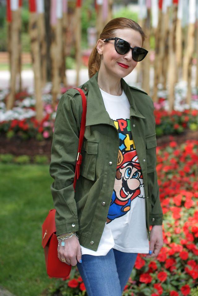 Super Moschino t-shirt  I love Nintendo videogames !  33623f4561f