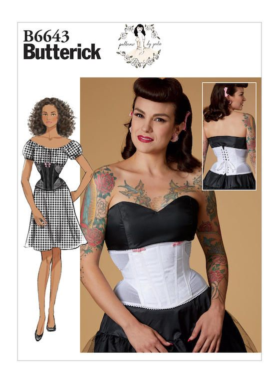 5d30cc2b7 Other than the sweet-heart neckline and the princess seamed bodice, adding  fringe to the very popular Butterick 6453 would give you a ...