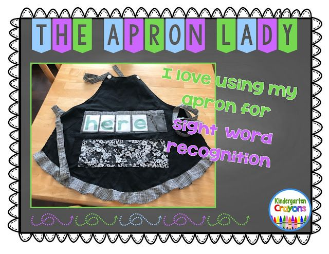 Apron Lady: Will You Be My Valentine? | Kindergarten Crayons