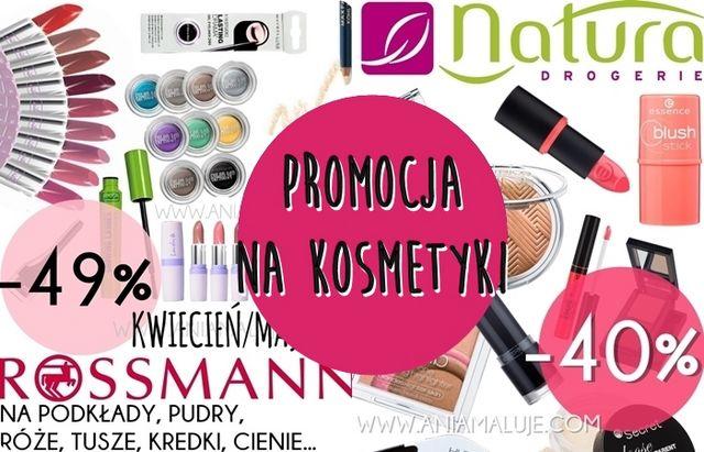 Promocja 49 Na Kosmetyki Rossmann Listopad 2016 I 40 W