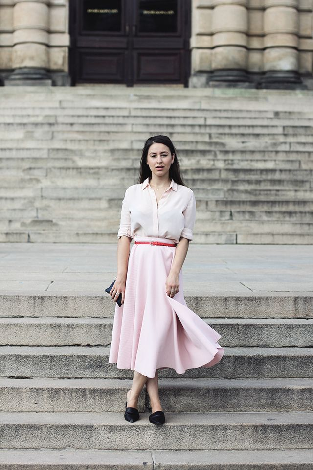 how to wear pink and not look like giant candy floss  913cb02128