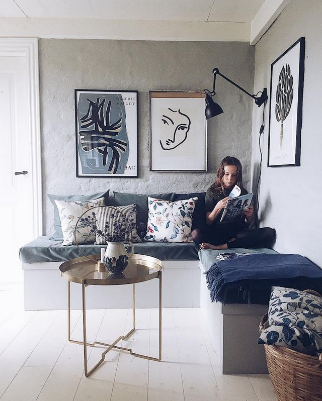 Warm and Inviting Danish home with Beautiful Textiles | my