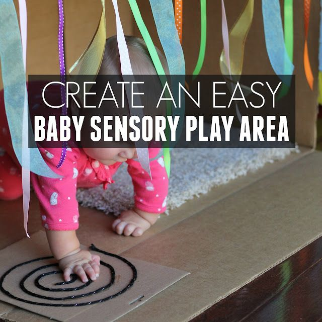 Easy Baby Sensory Play Area Ideas Toddler Approved
