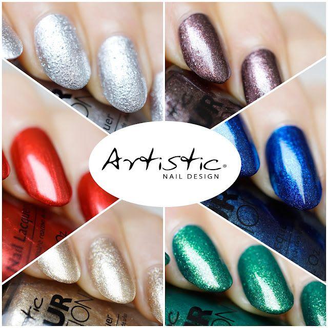 Artistic nail design holiday hangover collection swatches review artistic nail design holiday hangover collection swatches review prinsesfo Choice Image