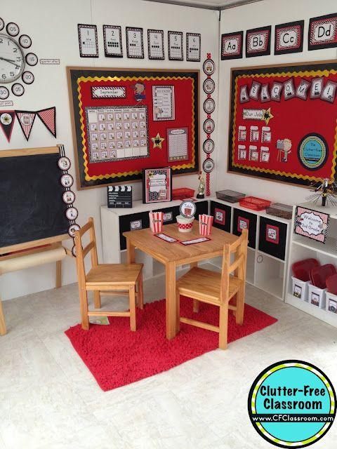 Classroom Decor Items ~ Hollywood themed classroom ideas printable
