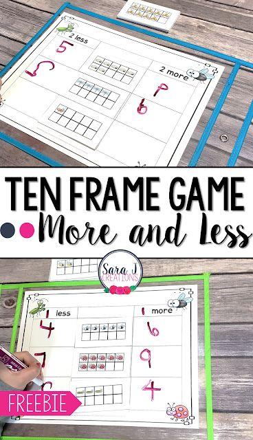 Ten Frame Game | Classroom Freebies | Bloglovin\'