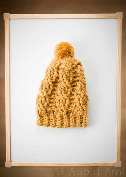 cf634f028d6 Chunky Cabled Slouchy Beanie