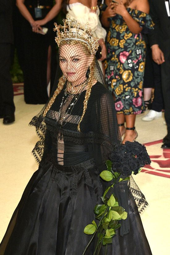 But it is with GREAT relief that we can report… Miss Madonna Louise Ciccone  NAILED it: