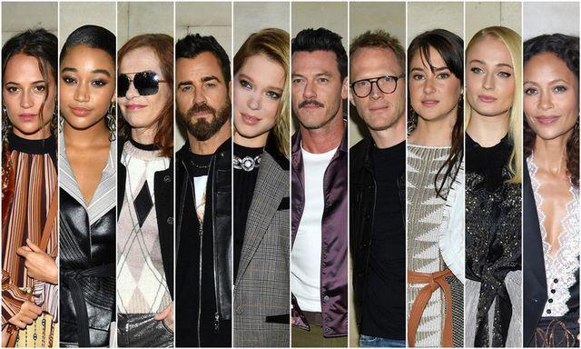 Paris Fashion Week: Louis Vuitton Fashion Show Front Row