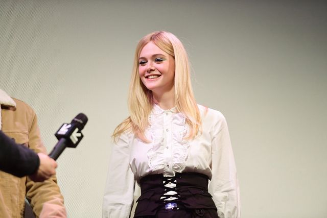 save off 0afce 2c7cd Elle Fanning in Miu Miu at the SXSW 2019  Not What We Expected
