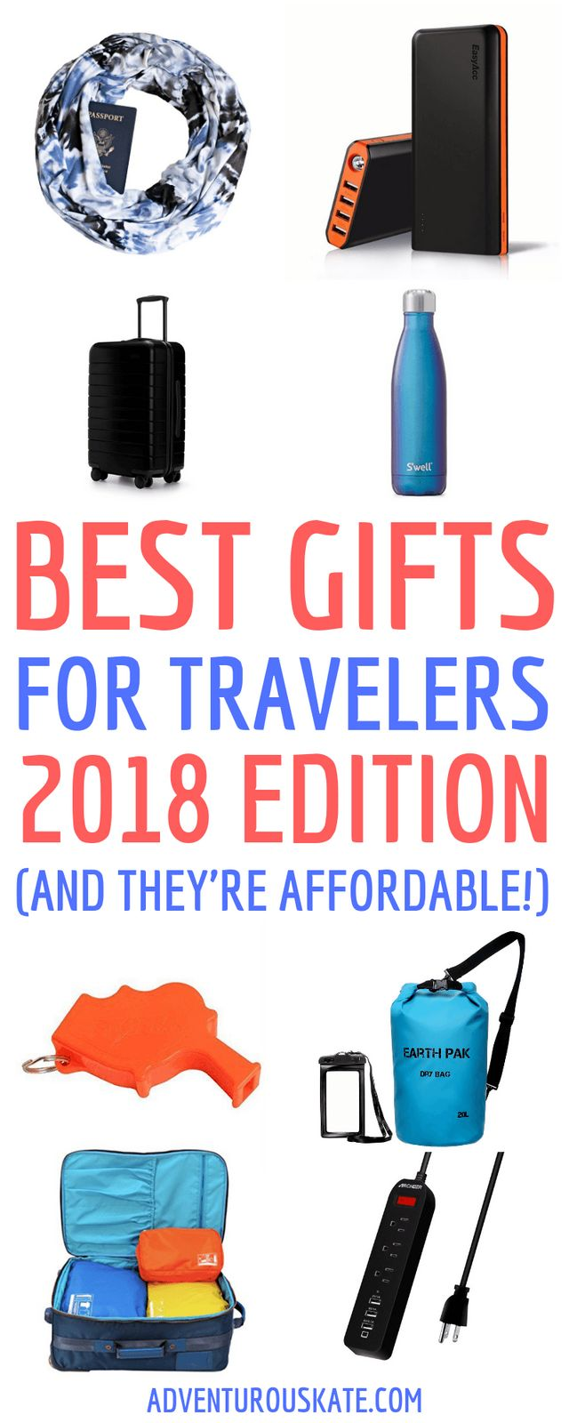 The Best Gifts for Travelers: 2018 Edition | Adventurous Kate