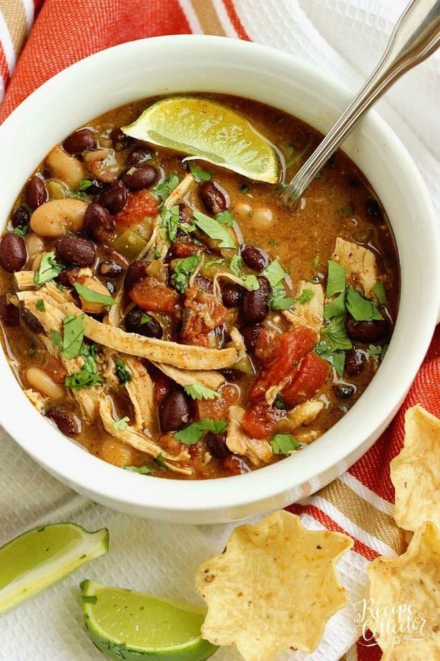Instant Pot Green Chile Chicken Soup Diary Of A Recipe Collector