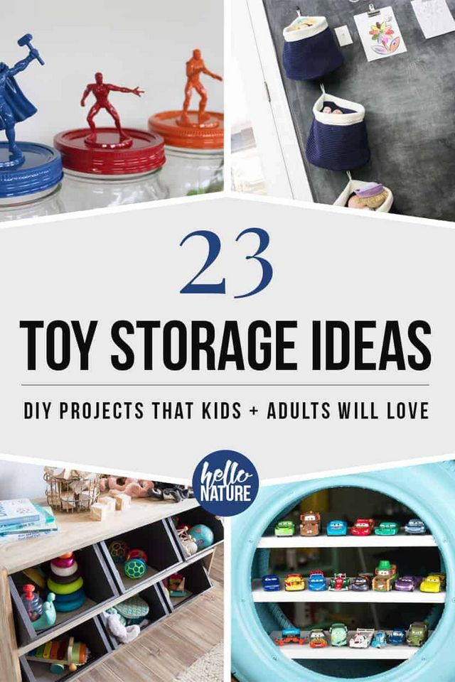 23 Clever Toy Storage Ideas That Kids Will Love | Hello