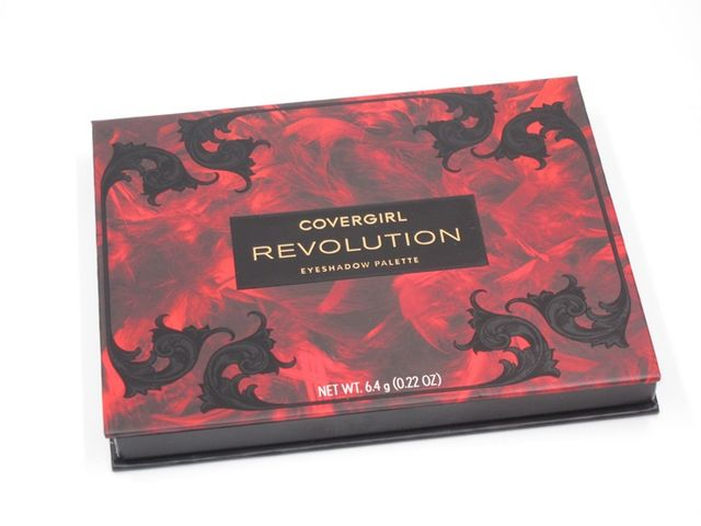 Covergirl Revolution Eyeshadow Palette Review & Swatches
