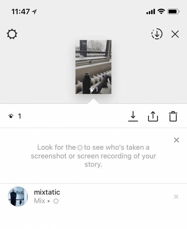 cdfcf1caa16 Screenshot maken van Instagram Stories kan niet meer geheim: met ...